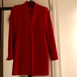 Blazer - Red - Zara Basic